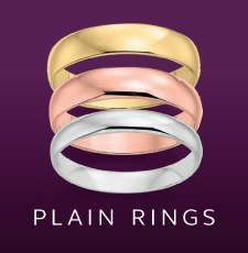 Plain Wedding Ring Collection