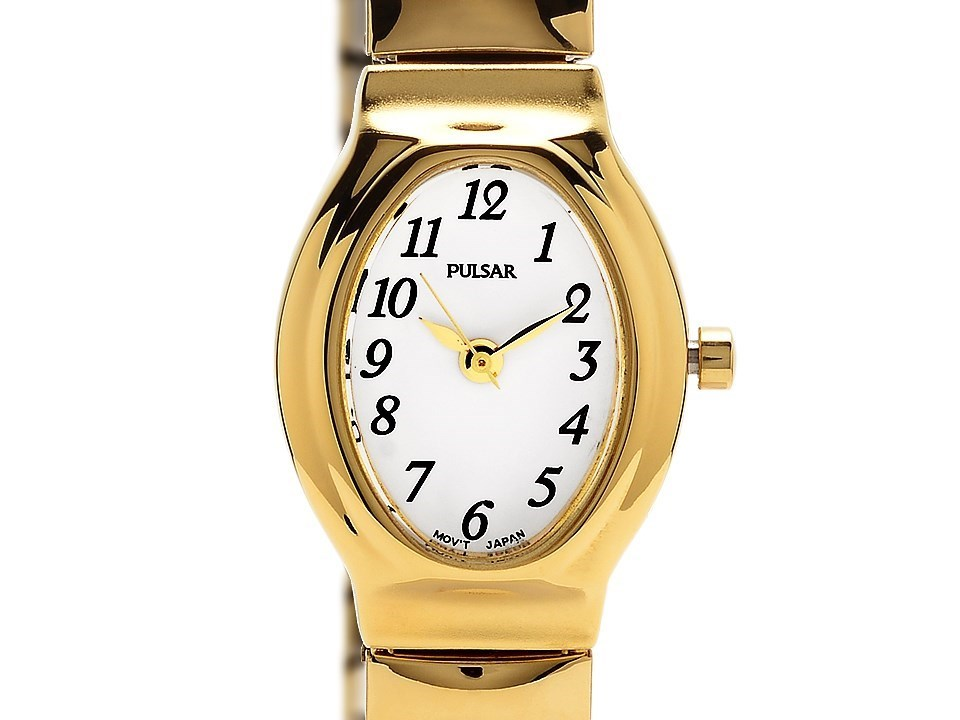 pulsar prs586x1 gold plated expanding w9318