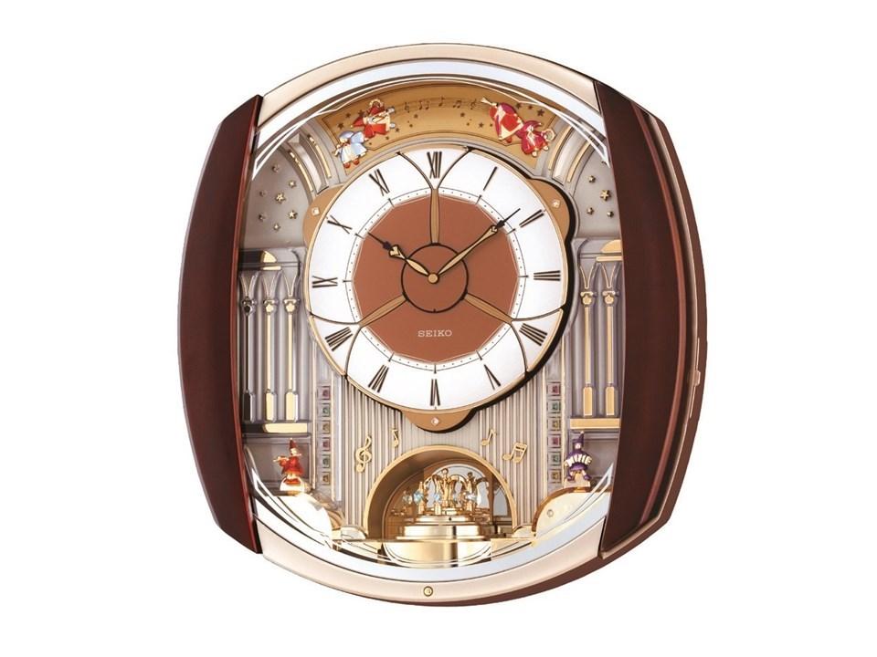 seiko qxm250b melody in motion wall clock c5967 f