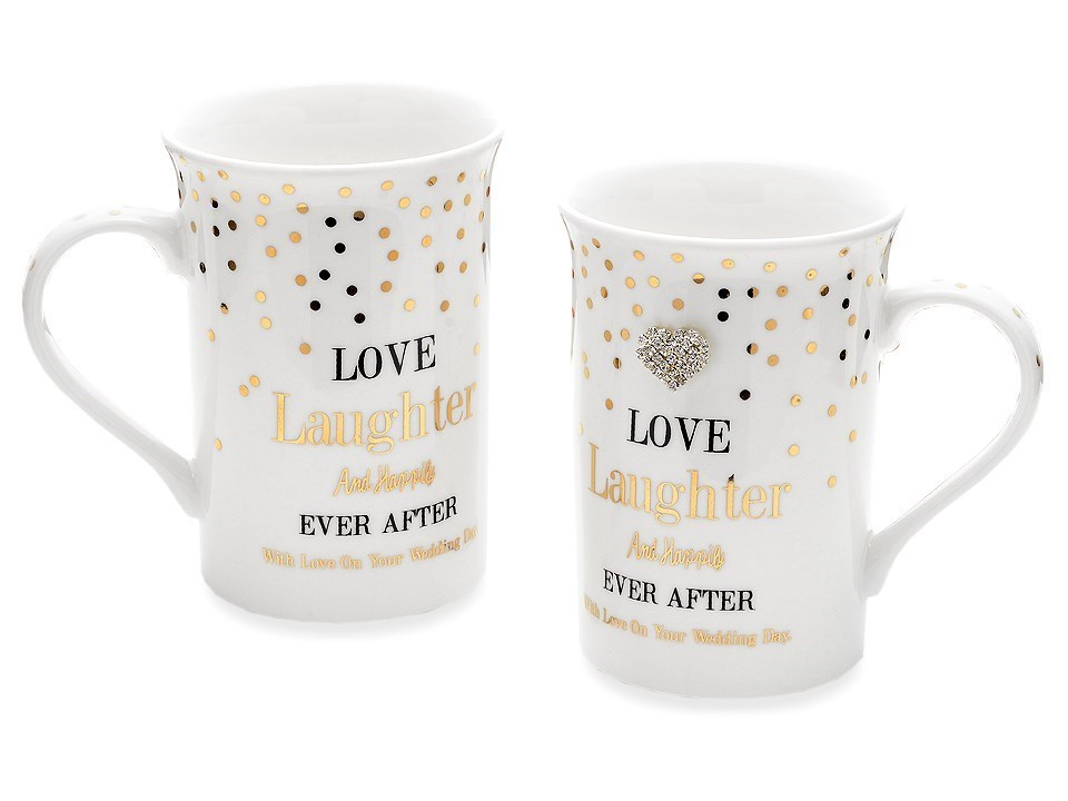 F Hinds Wedding Gifts : Wedding Mug Set - P71120 F.Hinds Jewellers