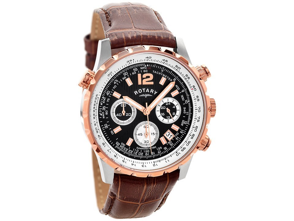 Gold Rotary Watch Mens Images Leather