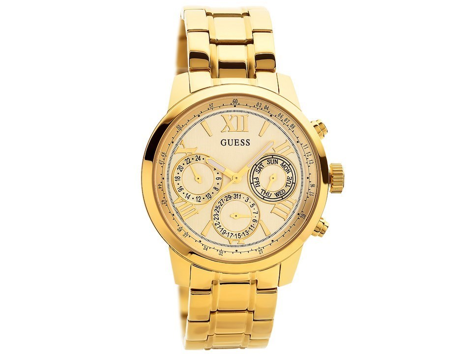 guess w0330l1 gold plated bracelet w9647