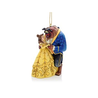 Disney Traditions A28960 Beauty And The Beast Hanging Ornament - P01185