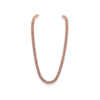 Anne Klein Rose Tone Crystal Lattice Necklace - J7804