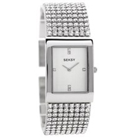 Seksy 2375.37 Krystal Stone Set Bracelet Watch - W33120