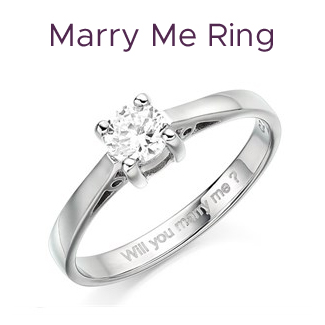 Click to view our Marry Me Ring