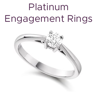 Click to view our platinum engagement rings