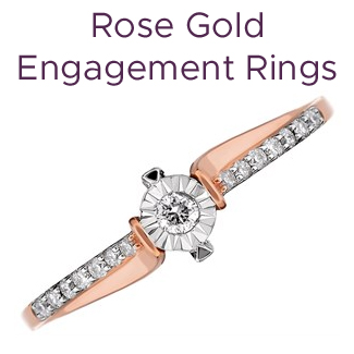 Click to view our rose gold engagement rings