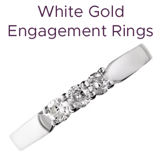 Click to view our white gold engagement rings