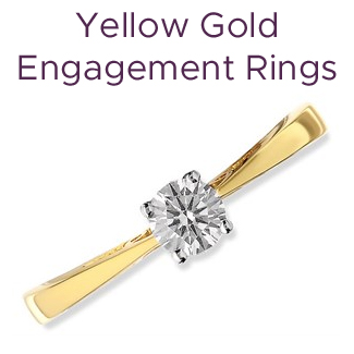 Click to view our yellow gold engagement rings