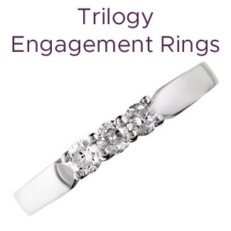 Click to view our trilogy engagement rings