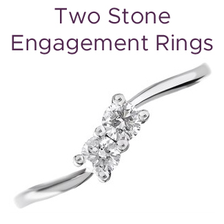 Click to view our two stone engagement rings
