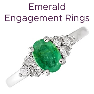 Click to view our emerald engagement rings