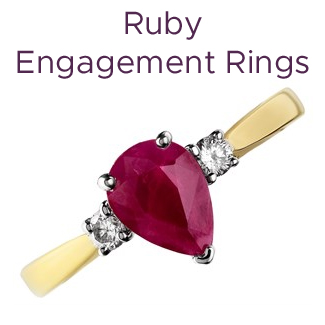 Click to view our ruby engagement rings
