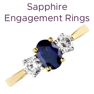 Click to view our sapphire engagement rings