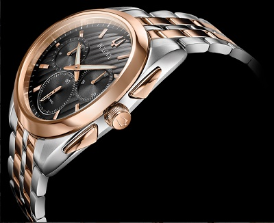 c35f6dec4 ... debut of the worlds first curved chronograph movement, the Bulova CURV.  The collection advances technical engineering with a sleek ergonomic design  and ...