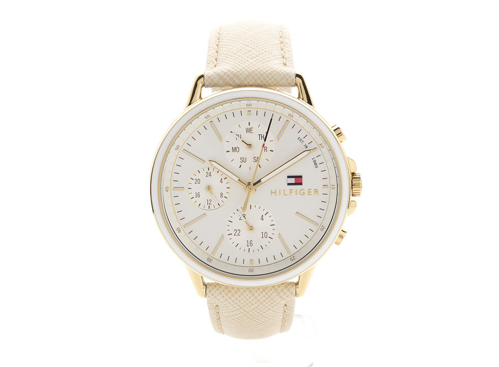 Tommy Hilfiger 1781790 Carly Gold Plated Chronograph