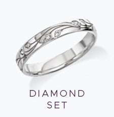 Diamond Set Wedding Rings