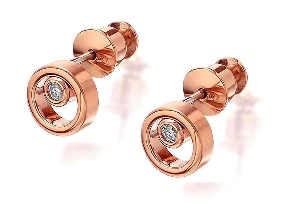 Skagen Women's Rose Gold Earrings SKJ0853791 sh7mZ