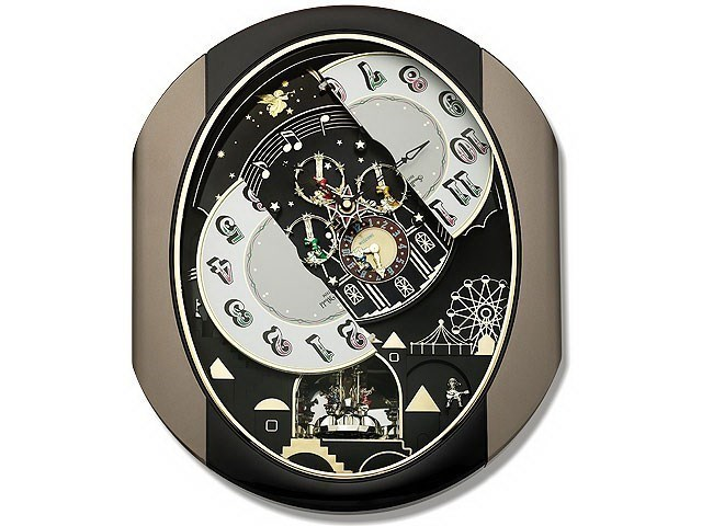 Rhythm 4mh751wd18 Small World Musical Wall Clock C5911