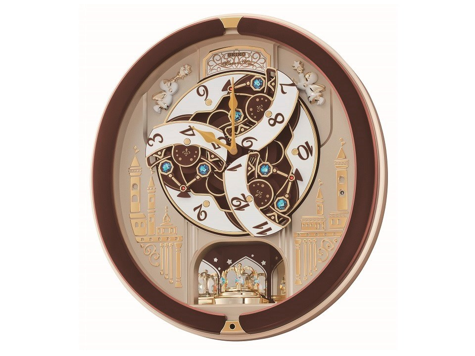 Seiko Qxm291b Melodies In Motion Wall Clock C5942 F