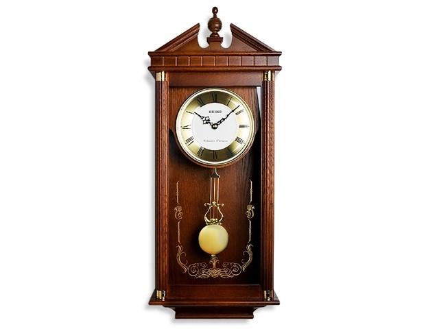 Seiko Pendulum Chiming Wall Clock C7182 F Hinds Jewellers