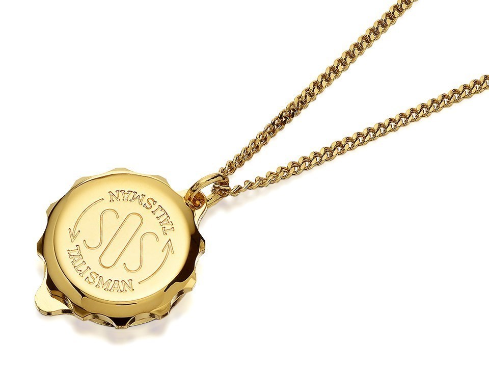 Gold plated st george sos talisman pendant and chain f3002 f default image gold plated st george sos talisman pendant and chain f3002alternative image1 aloadofball Image collections