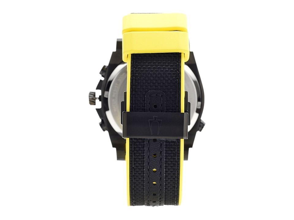 76d99e8fb ... Bulova 98B312 Precisionist Chronograph Black Resin Strap Watch -  W09138Alternative Image2