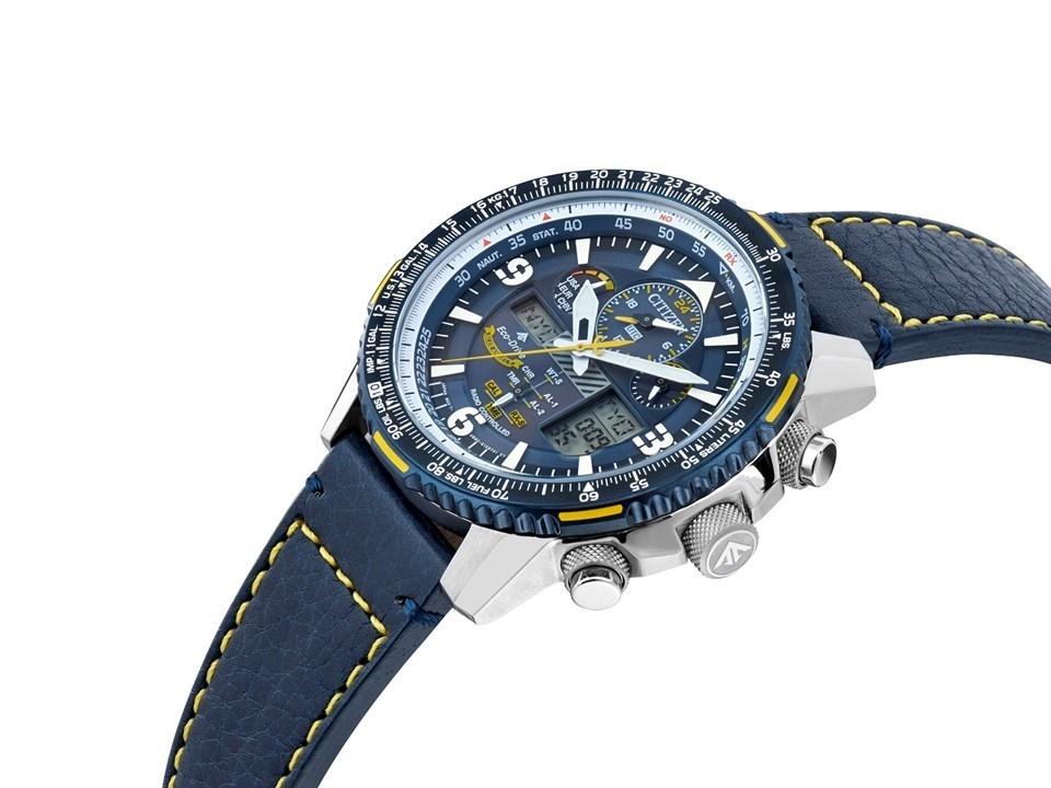 6bb50d4a309 ... Citizen JY8078-01L Promaster Blue Angels Skyhawk A-T Watch -  W3928Alternative Image3 ...