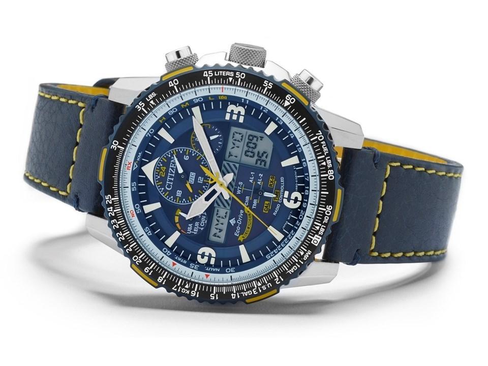 861bf1ecdd8 ... Citizen JY8078-01L Promaster Blue Angels Skyhawk A-T Watch -  W3928Alternative Image4