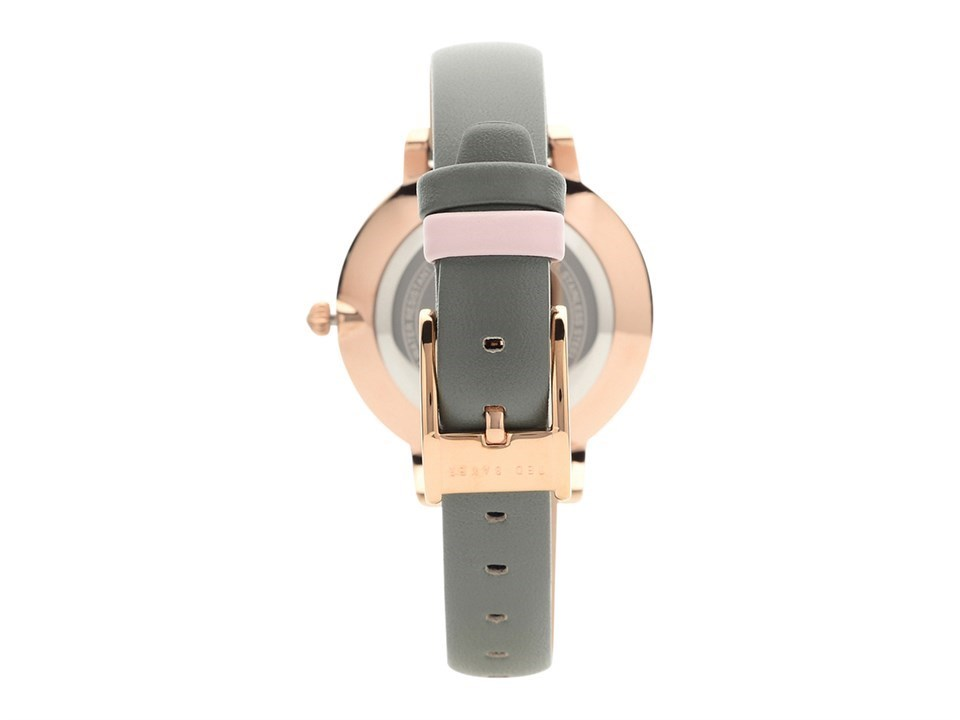 ff2da9c83f2a5 ... Ted Baker TEC0025007 Kate Rose Gold Plated Grey Leather Strap Watch -  W82171Alternative Image2
