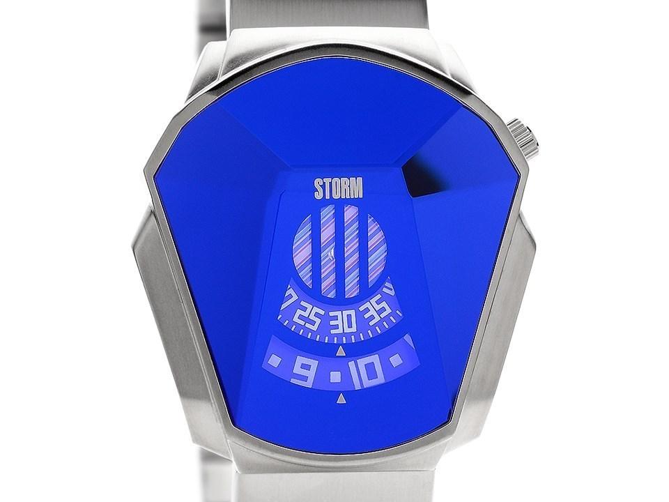 f2582f3ccfb Default Image Storm 47001 B Darth Lazer Blue Stainless Steel Bracelet Watch  - W87111Alternative Image1