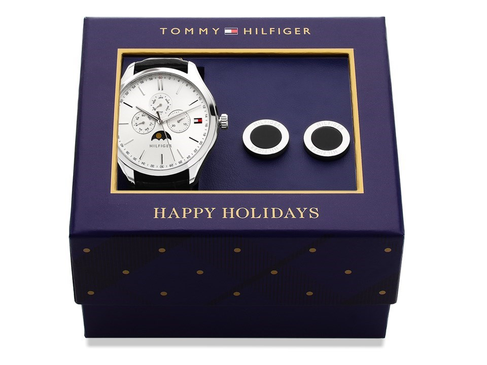 6f3f7352 Default Image Tommy Hilfiger 1770014 Oliver Watch And Cufflinks Gift Set -  W9574Alternative Image1