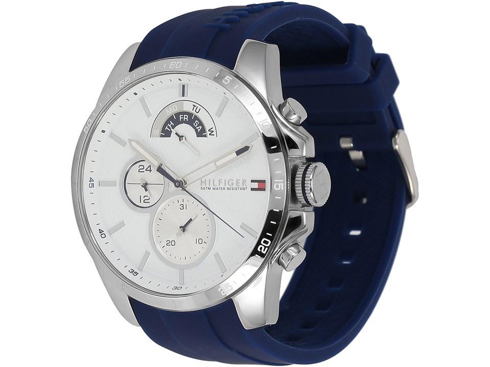 1ebfd78c Default Image Tommy Hilfiger 1791349 Decker Blue Resin Strap Watch -  W9583Alternative Image1 ...