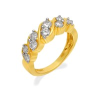 18ct Gold 1 Carat Diamond Ring - D4881-Q