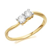 U&Me 9ct Gold Diamond Ring - 1/3ct - EXCLUSIVE - D6930-L