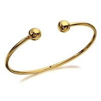 9ct Gold Torc Baby Bangle  G8426