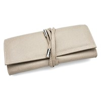 Image of Boutique Mink Leather Look Jewellery Roll - P5899