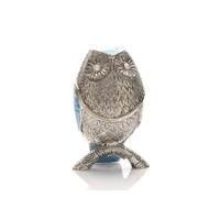 Image of Blue Owl Trinket Box - P65146