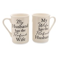 Amore Perfect Husband And Wife Mug Set - P71127