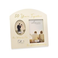Amore 50th Anniversary Photo Frame - P7147