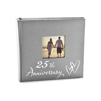 Image of 25th Silver Anniversary Photo Album - P7180