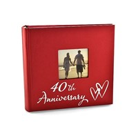 Image of 40th Ruby Anniversary Photo Album - P7181