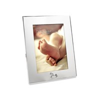 Bambino Silver Plated Crystal Rocking Horse Photo Frame  P8903