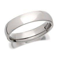 Palladium 500 Court Wedding Ring - 4mm - R1252-J