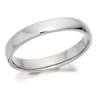 Palladium 500 Court Wedding Ring - 3mm - R1254-J