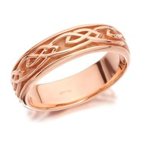 Clogau 9ct Rose Gold Eternal Love Ring - 5mm - R4889-O