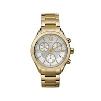 Timex Miami Gold Plated Chronograph Bracelet Watch - W04165
