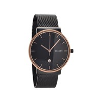 Skagen SKW6296 Ancher Rose Gold Plated Mesh Bracelet Watch - W0593