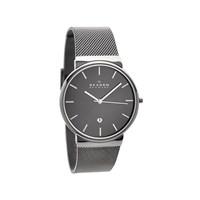 Skagen SKW6108 Ancher Refined Stainless Steel Mesh Strap Watch - W0683